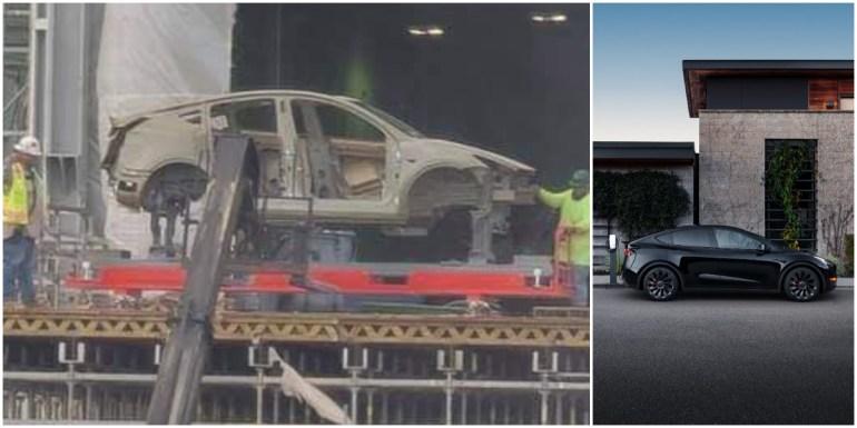 Tesla готовит роботов для производства Model Y в Giga Texas