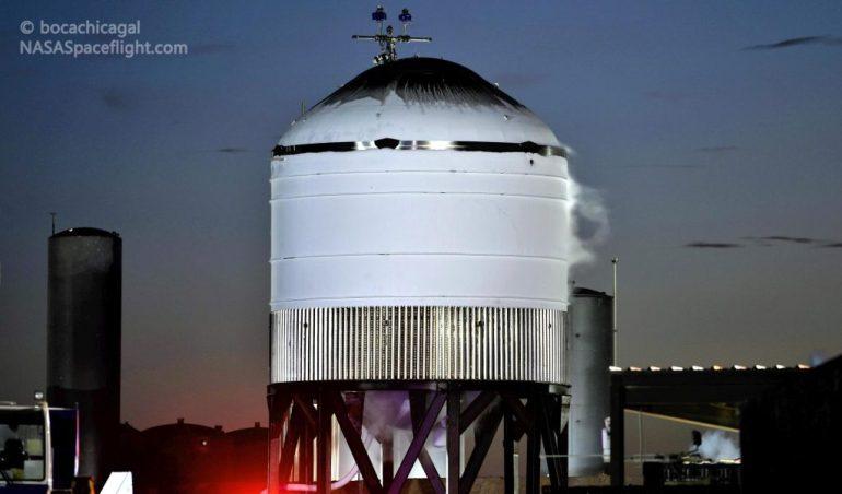 Странный прототип резервуара для хранения топлива Starbase от SpaceX прошел первые испытания