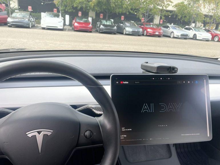 Блог LIVE: День ИИ Tesla