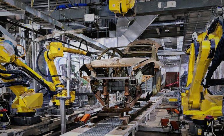 Предварительное производство Tesla Model Y может начаться на Gigafactory Texas на этой неделе (фото)
