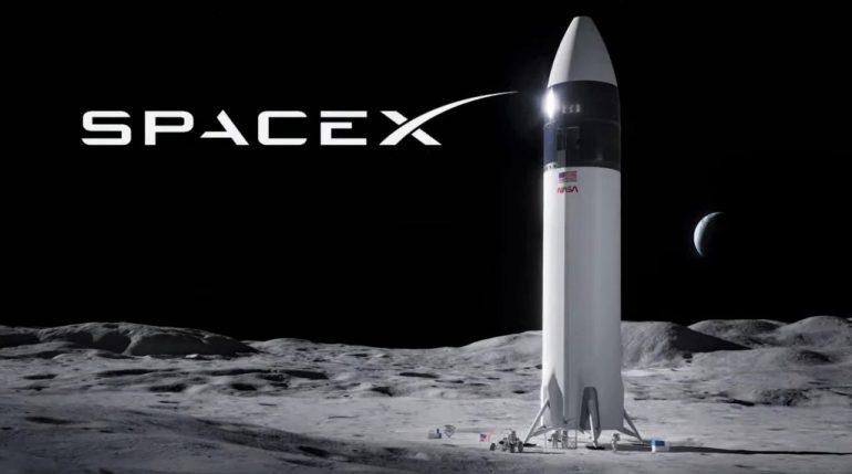 SpaceX получает первое крупное финансирование для посадочного модуля Starship Moon от НАСА