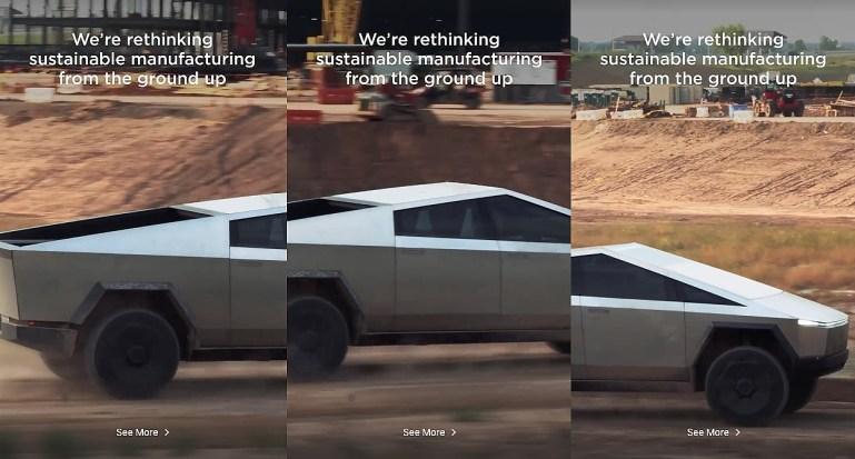 Tesla Cybertruck выглядит еще более нереально в последнем видео Giga Texas