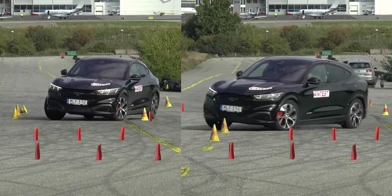 Ford Mustang Mach-E не прошел ключевой тест на безопасность, который прошел Tesla Model Y