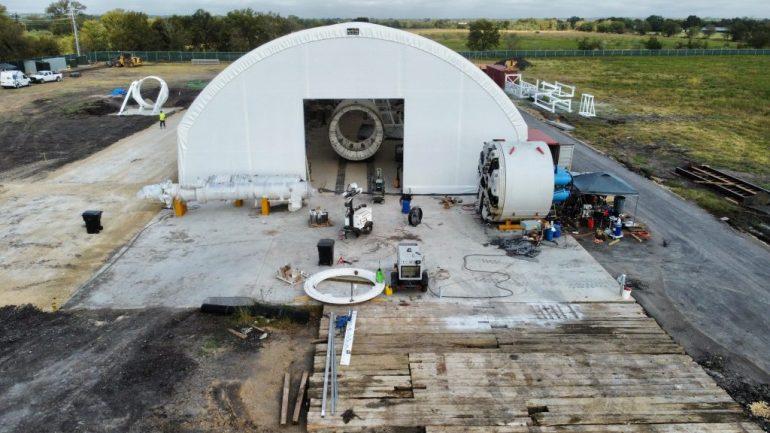 Работа Boring Company над Prufrock 2 продолжается, поскольку она открывает новые рабочие места в Техасе.