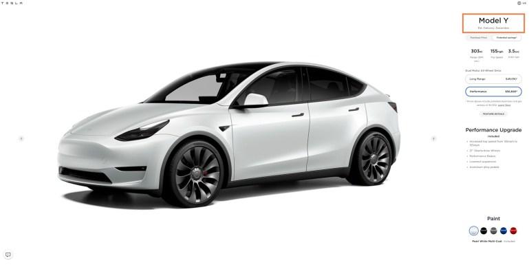 Tesla Model Y Performance почти распродана к 2021 году