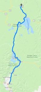 Yellowstone Park Leg