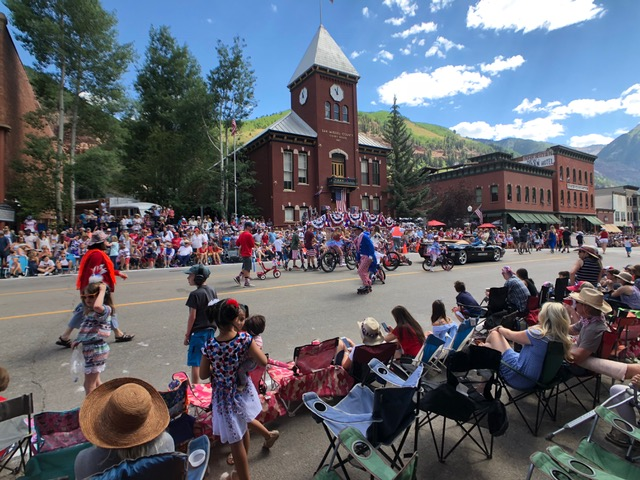 Telluride Parade