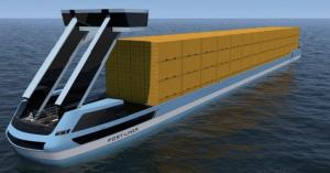 Port Liner Electric Barge