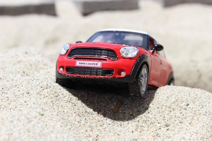 Minicooper miniatyyri