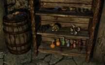 One Blades gauntlet at the Sleeping Giant Inn in the secret room.