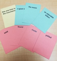 Past Tense Story Cards