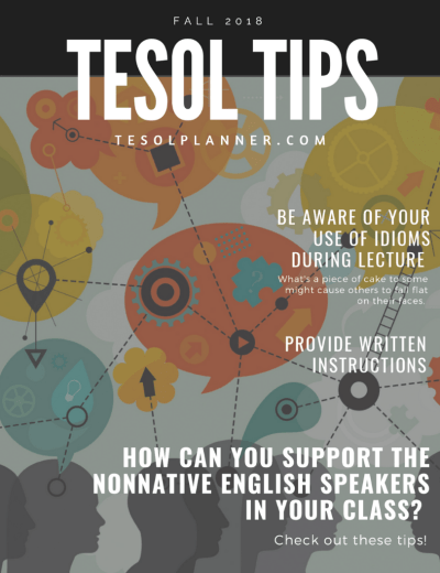 Strategies to Support Nonnative Speakers