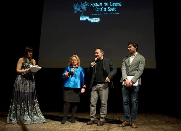 La presidente Donatella Cocchini e il direttore artistico Fabrizio Cattani