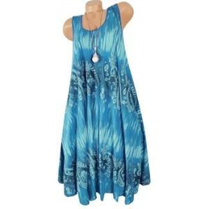 Sleeveless Paisley Printed Shift Dress