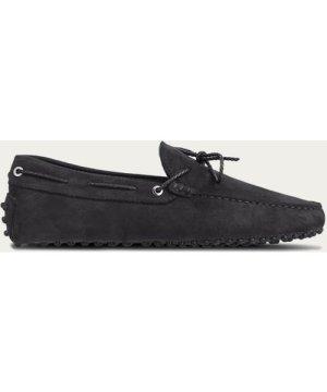 Black Nubuck Driving Shoes