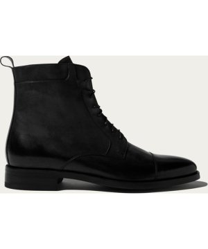 Totò Nero Lace up Boots