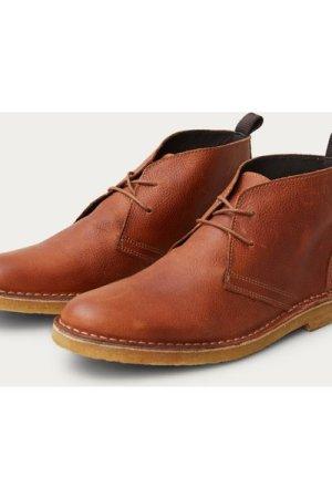 Cognac Herman Desert Boots