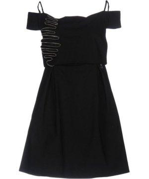 Mangano Black Cotton Dress