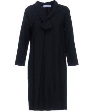 Anna Rachele Jeans Collection Black Long Sleeve Dress