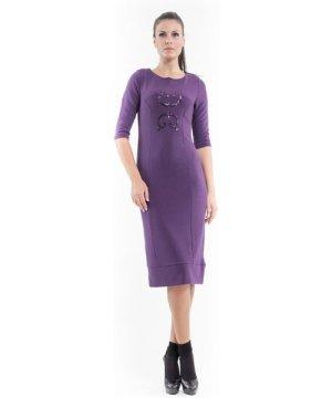Conquista Sequin Detail Stretch Dress