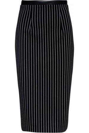 Conquista Striped High Waist Pencil Skirt