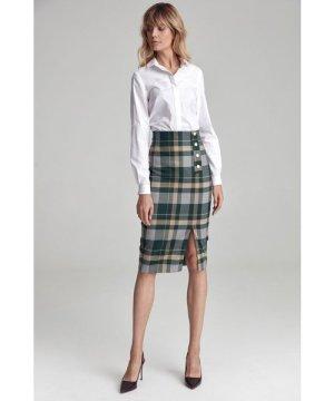 Nife Pencil chquered skirt