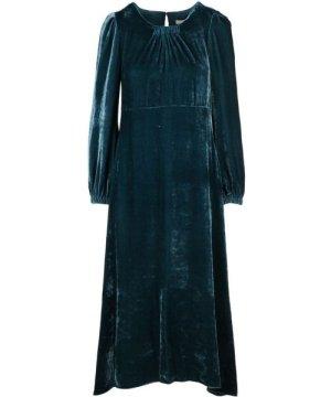 Beatrice B BEATRICE WOMEN'S 18FA68411018750 BLUE VISCOSE DRESS