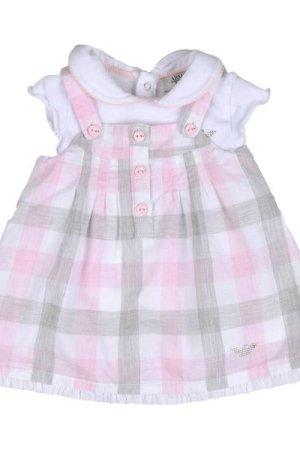 Armani Junior BODYSUITS & SETS Light pink Girl Cotton