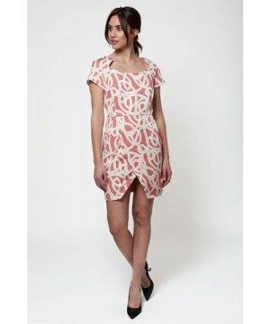 Javier Larrainzar Jacquard Mini Dress