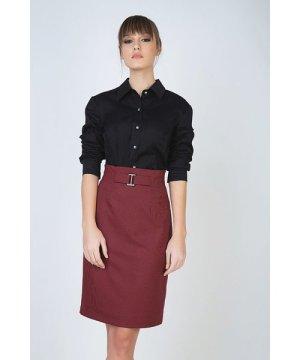 Conquista Pencil Skirt with Belt Detail