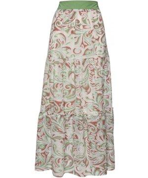 Conquista Paisley A Line Maxi Skirt