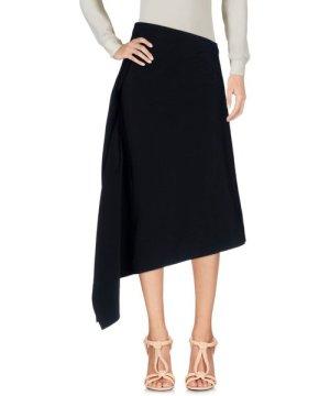 Rosetta Getty Black Crepe Skirt