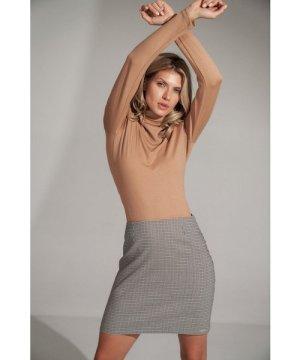 Figl A-line mini checkered skirt