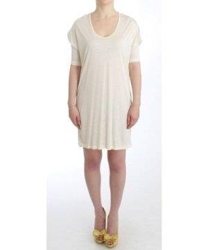 Costume National White modal tube dress