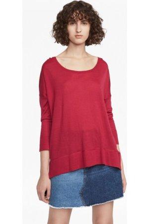 Spring Light Knitted Jumper - summer rouge