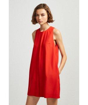 Evening Dew Playsuit - margo red