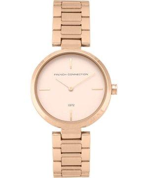Rose Gold Link Bracelet Watch - rose gold