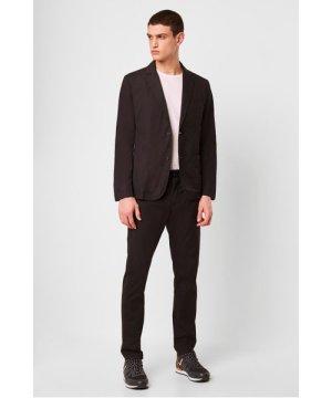 Light Cotton Trousers - black onyx