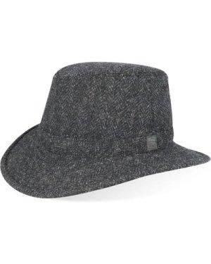 Tilley TW2HT Harris Tweed Hat Charcoal 7 3/4