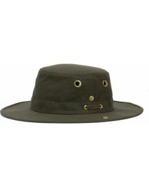 Tilley T3 Medium Brim Snap Up Hat Gold 7 3/4