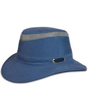 Tilley Unisex T5MO Organic Airflo Brimmed Hat Mid Blue 59cm (7 3/8)