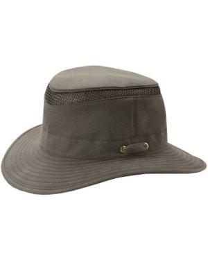 Tilley Unisex T5MO Organic Airflo Brimmed Hat Olive 60cm (7 1/2)
