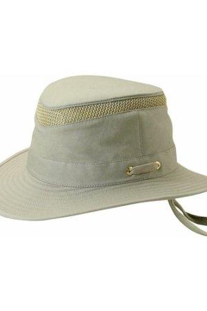 Tilley Unisex T5MO Organic Airflo Brimmed Hat Grey 7 5/8