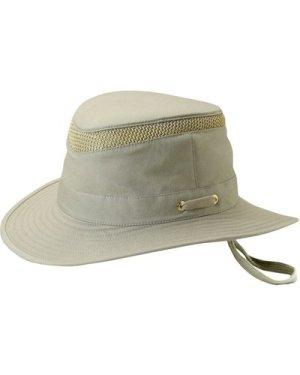 Tilley Unisex T5MO Organic Airflo Brimmed Hat Khaki Olive 62cm (7 3/4)