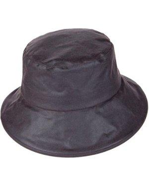 Heather Womens Ailsa Wax Downbrim Hat Brown Small / Medium