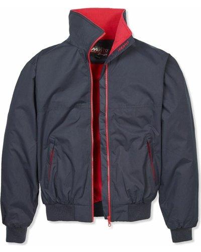 Musto Unisex Short Snug Blouson True Navy/Red Small