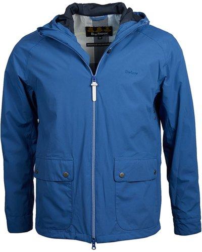 Barbour Mens Howtown Jacket Loch Blue XXL