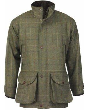 Laksen Mens Wingfield Tweed Coat Woodhay Tweed Medium
