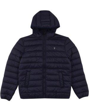 Farah Mens Delano Wadded Jacket Dark Blue XL