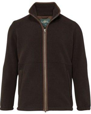 Alan Paine Mens Aylsham Fleece Jacket Peat XXL